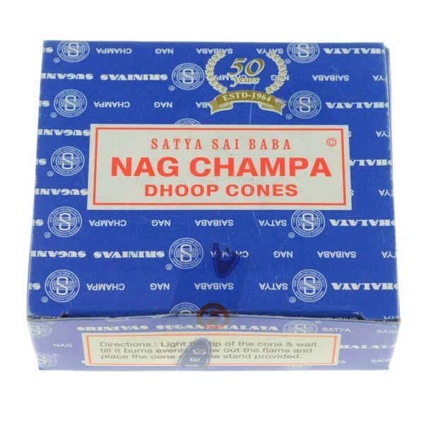 NagChampa Räucherkegel Satya Nag Champa
