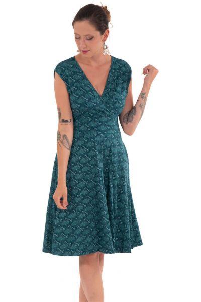 Chapati weites Sommer-Kleid Dragana Petrol