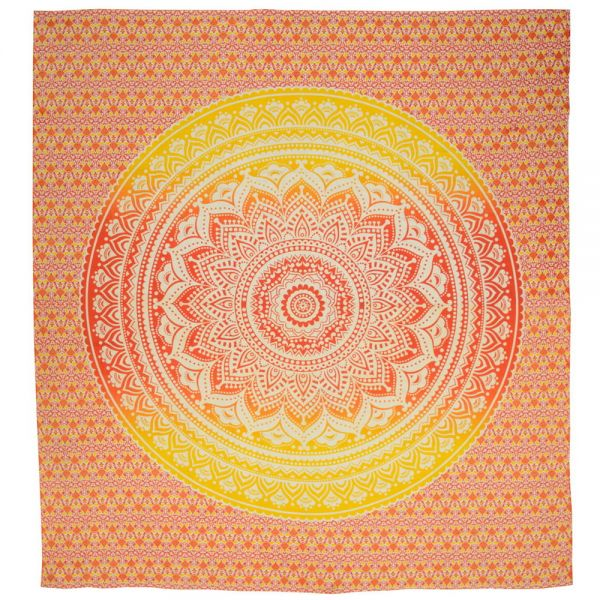 Großes Mandala Wandtuch