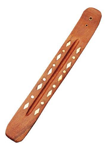 Räucherhalter Holz, verziert