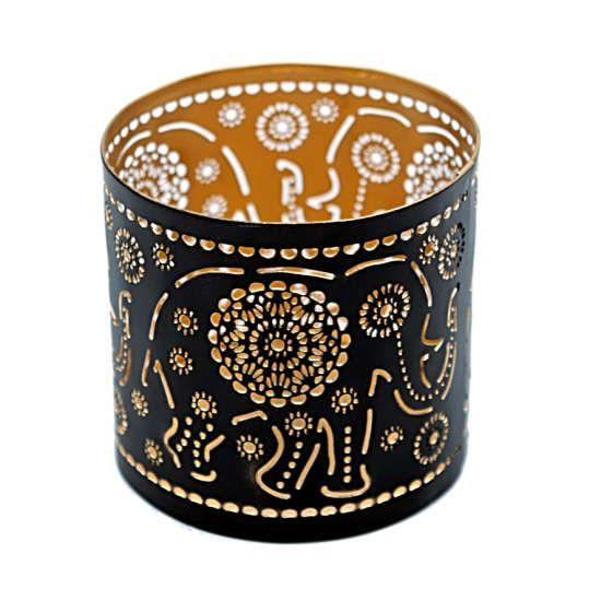Elefant Teelichthalter Kerze