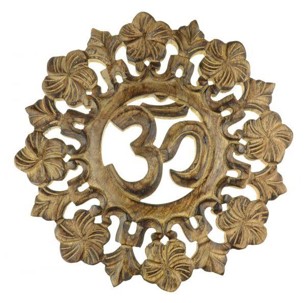 Om-Symbol Wanddekoration