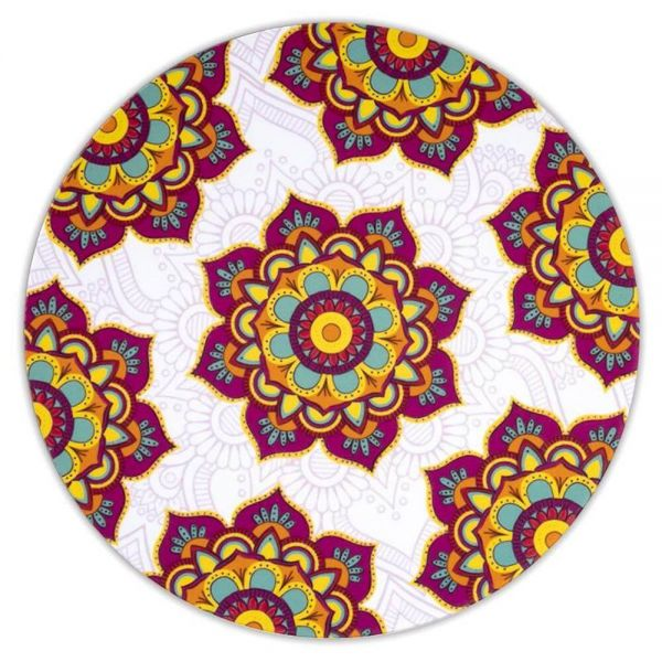 Set Untersetzer Mandala Design Rot