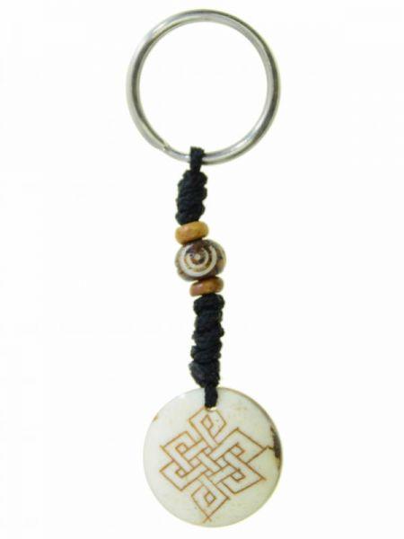 Tibetischer Knoten, Schlüsselanhänger