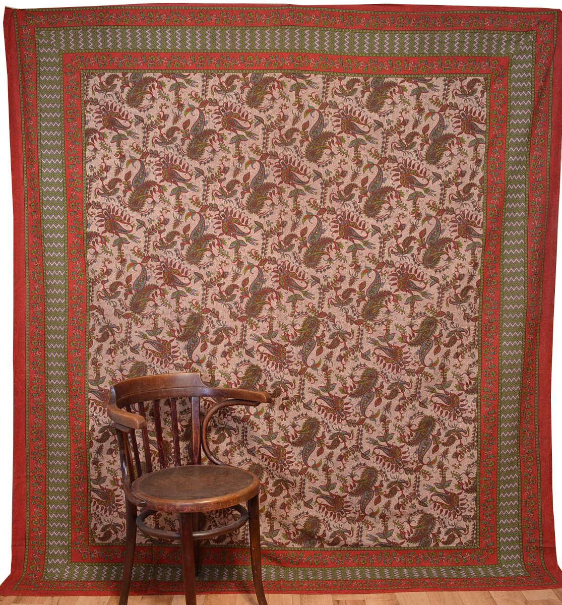 Indische paisley tagesdecke berwurf wandbehang talisman for Tagesdecke paisley