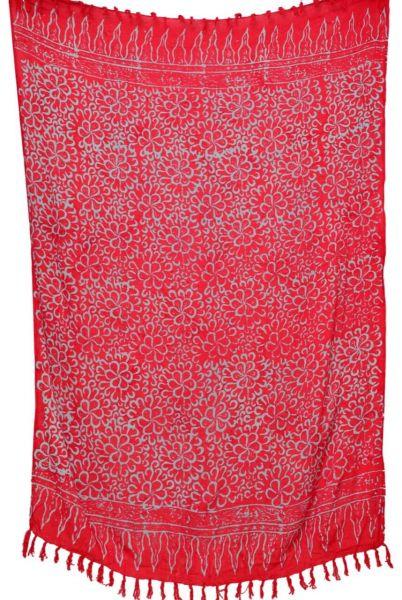 Rot Tuerkiser Batik Sarong