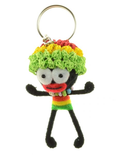 Rastaman Ugly-Doll Schlüsselanhänger