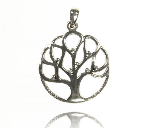 Silberanhänger Baum Lebensbaum 925 Silber