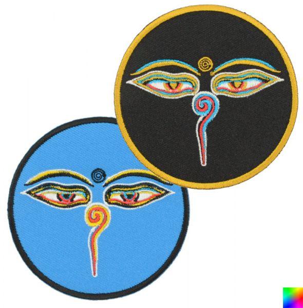 Augen Buddhas Patch