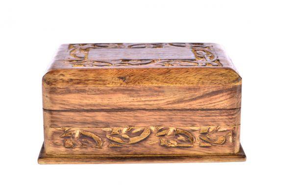 Trickbox Holzkästchen mit Geheimverschluss