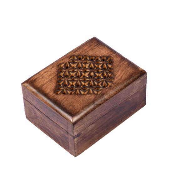 Kleine Schatulle Holzschächtelchen