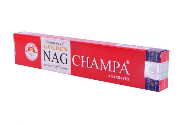 Golden Nag Champa, Räucherstäbchen