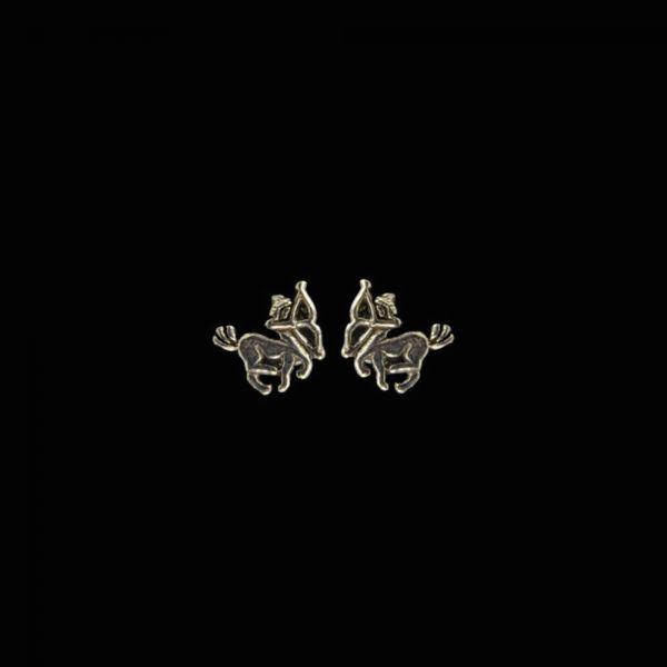 Schütze Sternzeichen Silberohrstecker