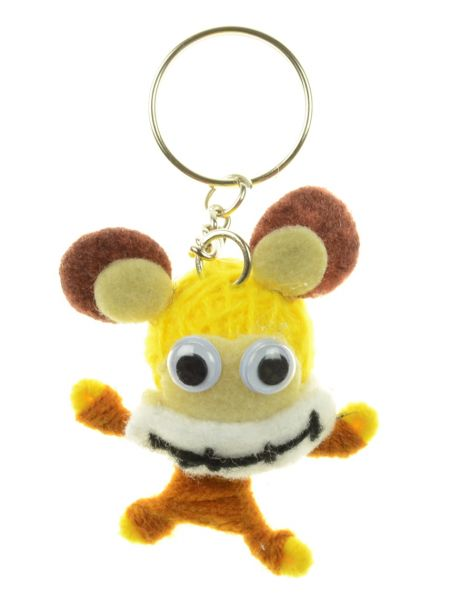Bärchen Ugly-Doll Schlüsselanhänger
