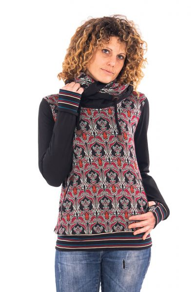 Chapati stylisher Jaquard-Jersey Pullover Herbst Winter 2020