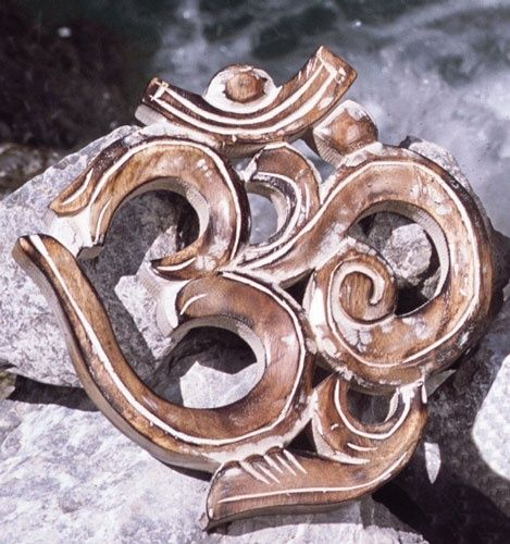 OM Symbol Mangoholz, 19cm