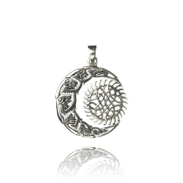 Keltischer Silberschmuck Anhänger