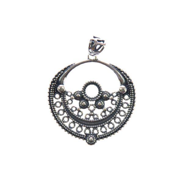 Silberanhänger indischer Antik-Stil Silberschmuck Rostock
