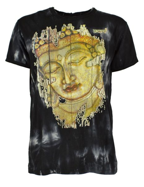 Sure design Buddha Batik T-Shirt