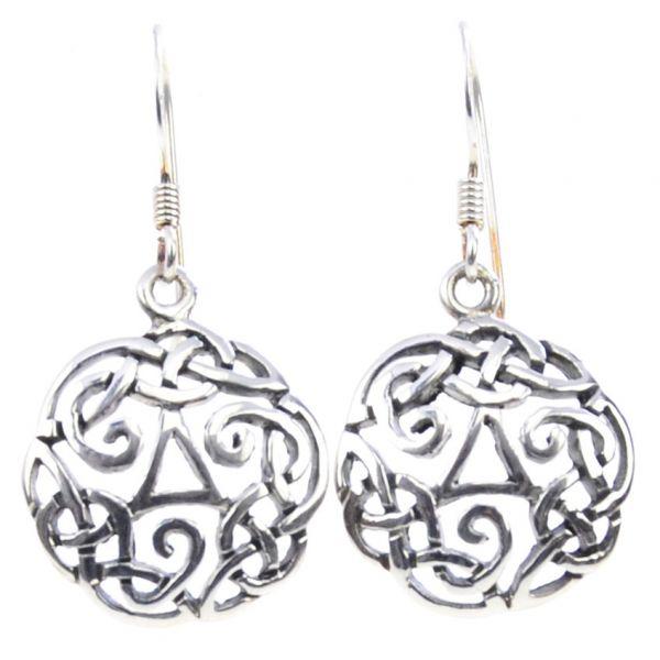 Keltischer Knoten Ohrringe