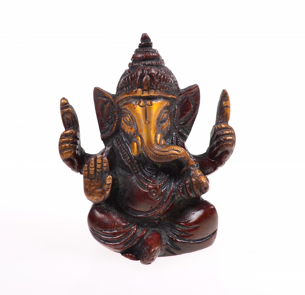ganesha bronze statue ganesh elefantengott talisman shop. Black Bedroom Furniture Sets. Home Design Ideas