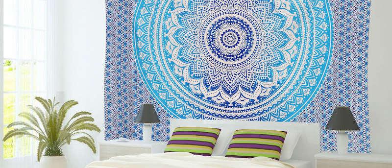 Wandtücher, Tagesdecken