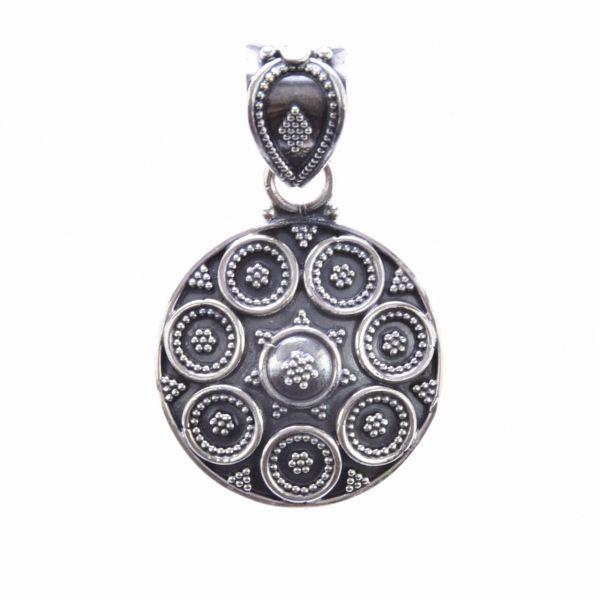 Traditionell indischer Silber Anhänger