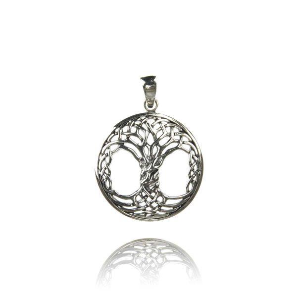 yggdrassil keltischer lebensbaum weltenesche anhänger