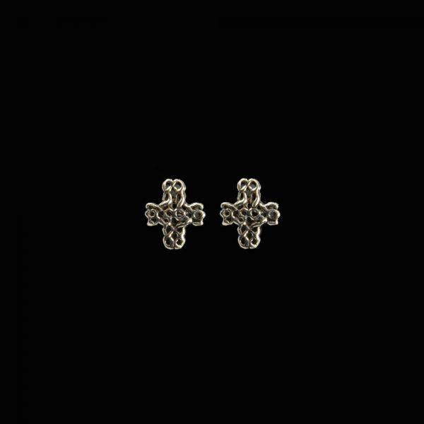 Kreuz Keltischer Knoten Ohrstecker