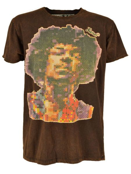 Jimmy Hendrix Batik T-Shirt