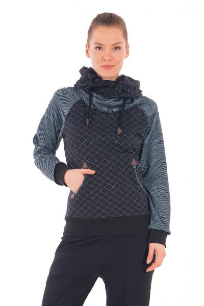 Chapati Sportiver Pullover Baumwolle Herbst Winter