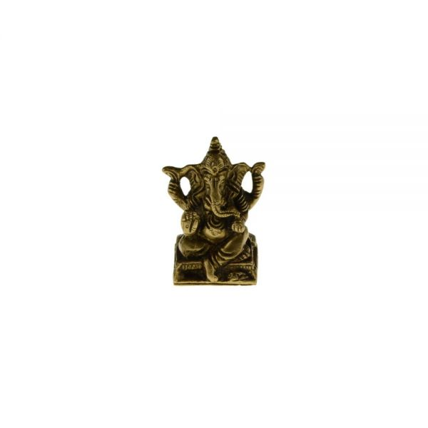 Ganesha Messing Statue