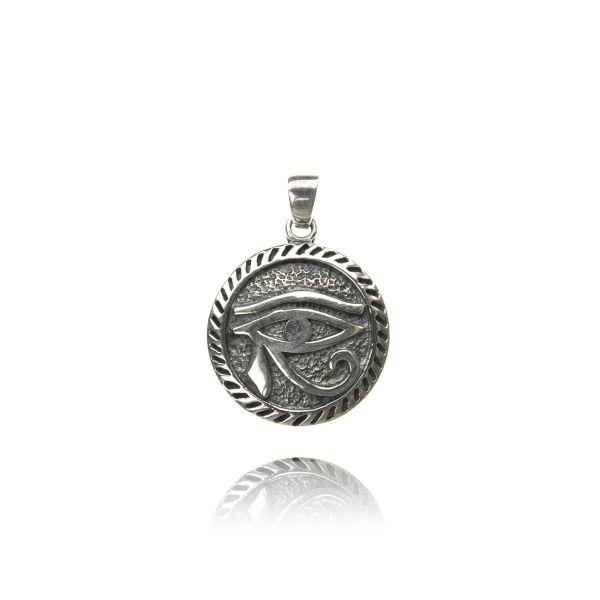 Horus Auge Silberanhänger