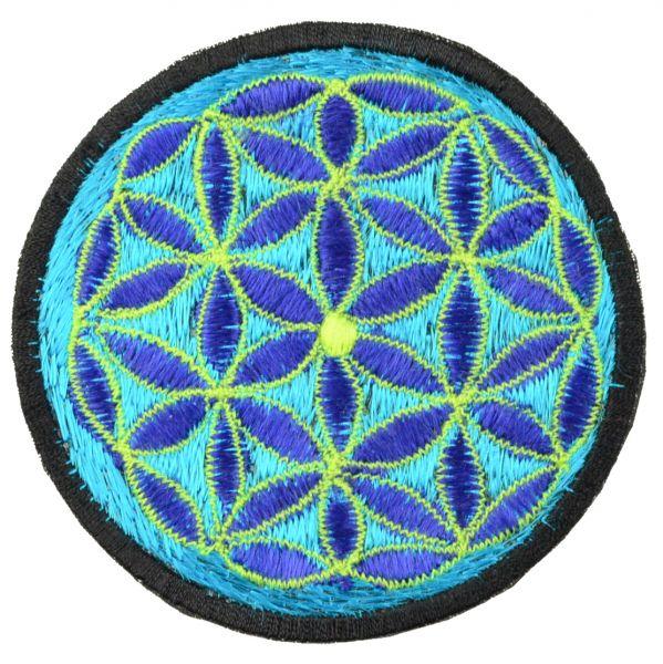 Blume Des Lebens Aufnäher Aufnäher Patches Accessoires Talisman