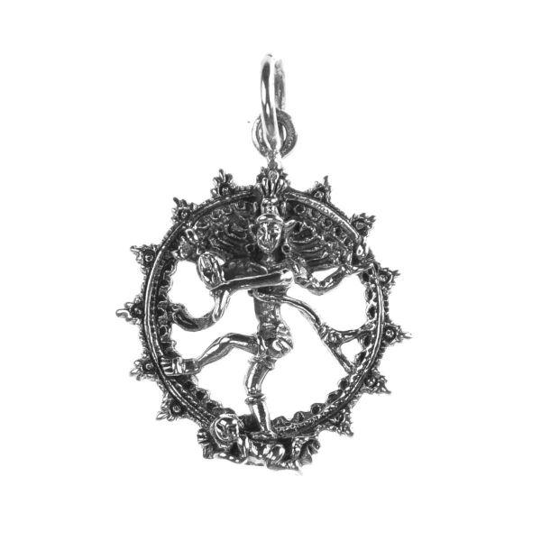 Shiva Nataraja Silberanhänger