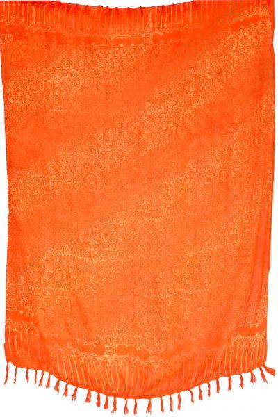 Sarong Batik Pareo Lunghi Orange B