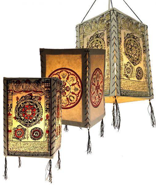 buddhistische papier lampe lampion zimmer