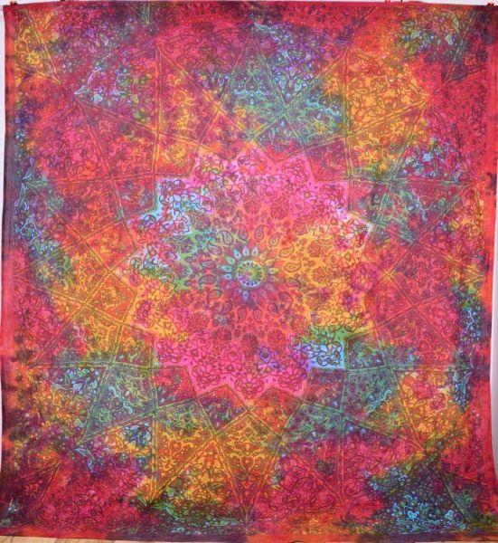 psychedelic Mandala Wandtuch Goa Decke Tuch