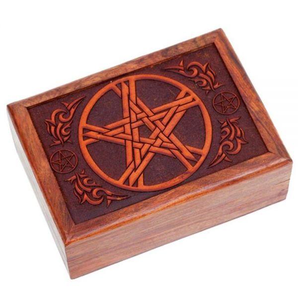 Pentagramm Truhe Tarotkistchen