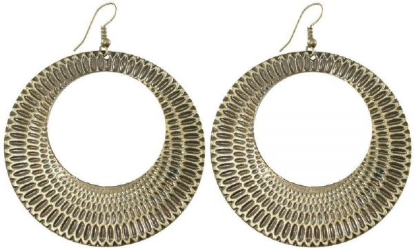 Ohrringpaar, Metallschmuck