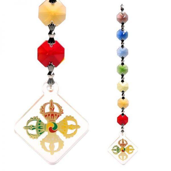 Feng Shui Vajra Schutz Dekoration Mobile Chakra