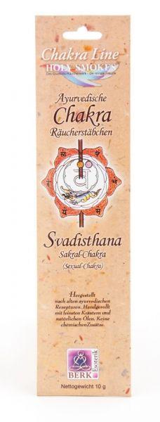 Swadhisthana Sakral-Chakra Räucherstäbchen