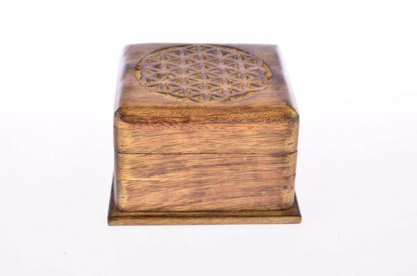 Blume des Lebens Trickbox mit Geheimverschluss