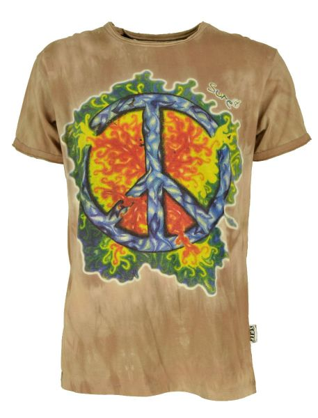 Flaming Peace Batik T-Shirt