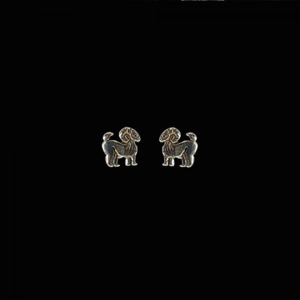 Widder Sternzeichen Silberohrstecker