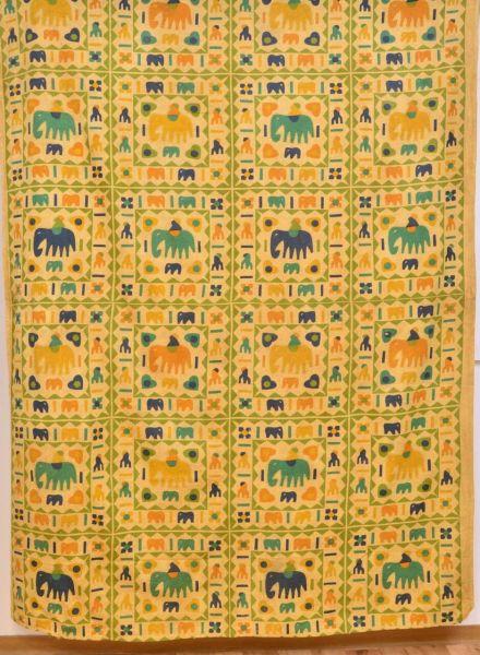 Elefanten Tagesdecke Goa Decke Tuch 205x150