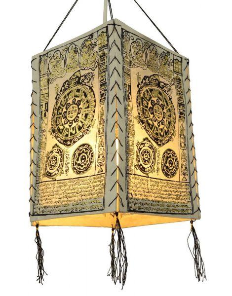 buddhistischer Lampion papier Lampenschirm