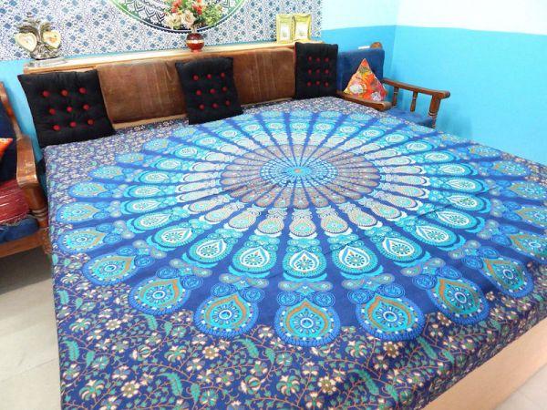 Große Tagesdecke zentrales Mandala