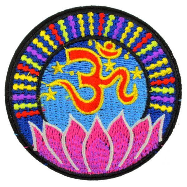 Aufnäher OM mit Lotus