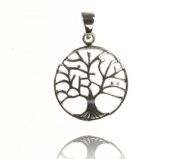 Baum Silberanhänger